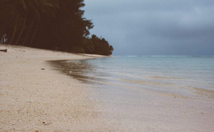 One week in Rarotonga with one day ofsun.